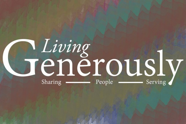 Living generously sermon series rivertree church for Generous living